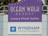 Ocean Walk Wyndham Sign