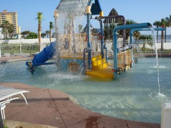 Ocean Walk Kiddy Pool with Interactive Features
