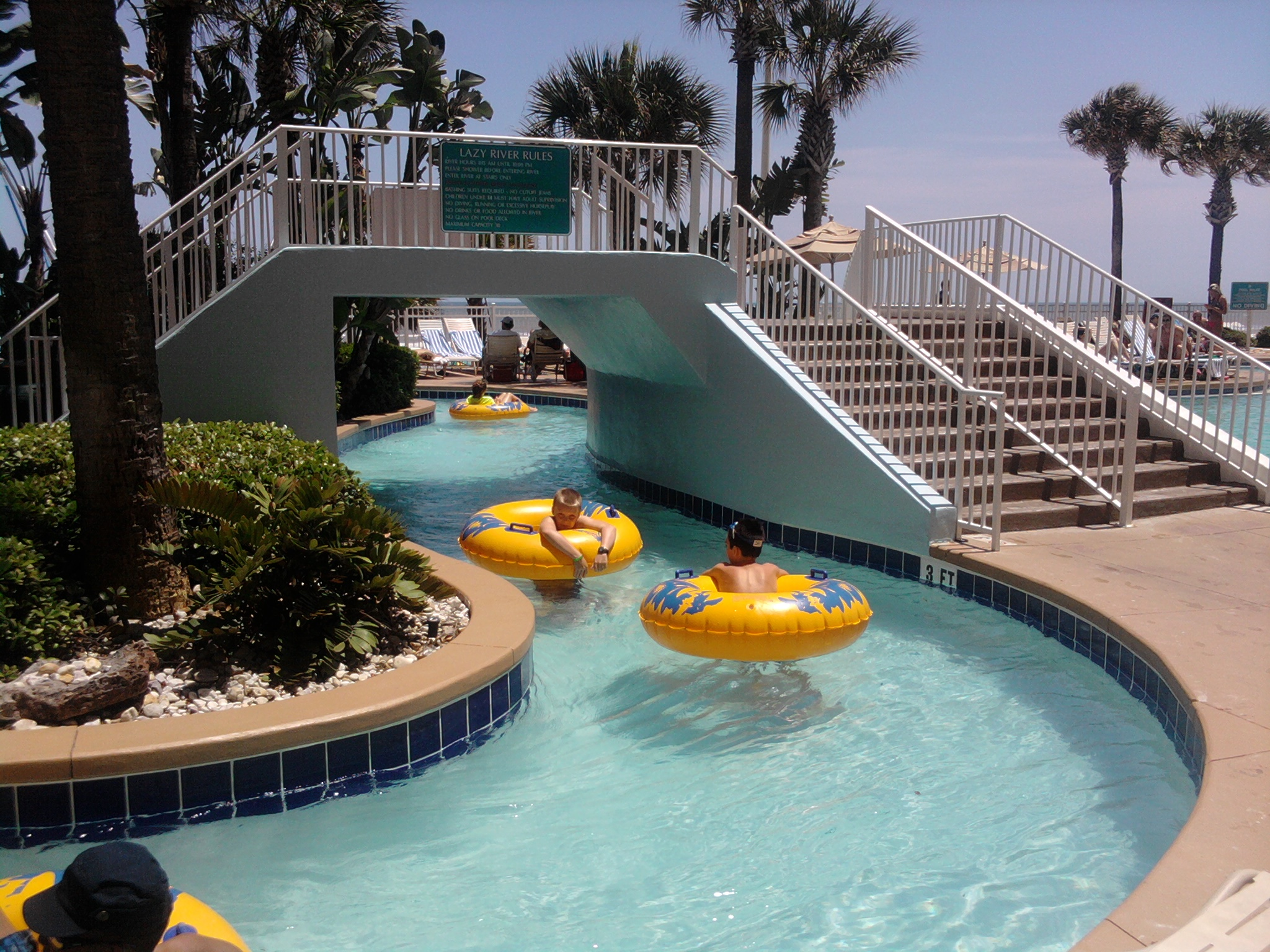 Lazy River 800 205 2242 Ocean Walk Resort